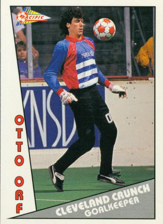 Crunch 90-91 Goalie Otto Orf