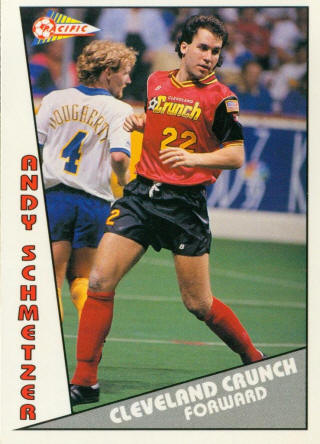 Crunch 90-91 Home Andy Schmetzer, Sockers