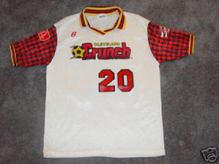 Crunch 91-92 Home Jersey Gino DiFlorio