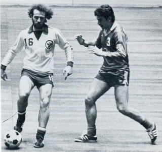 MISL Philadelphia Fever 1978-79 Jim Lemon, Arrows Craig Reynolds