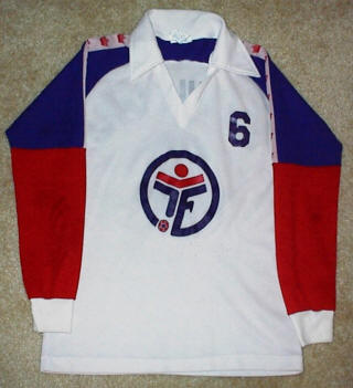 Fever 79-80 Road Jersey Dave MacWilliams