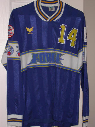Force 87-88 Home Jersey Pasquale DeLuca