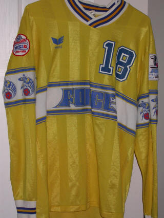 Force 87-88 Road Jersey Glen Lurie
