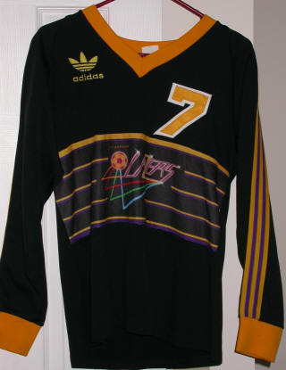 Lazers 85-86 Home Jersey Dave Madden