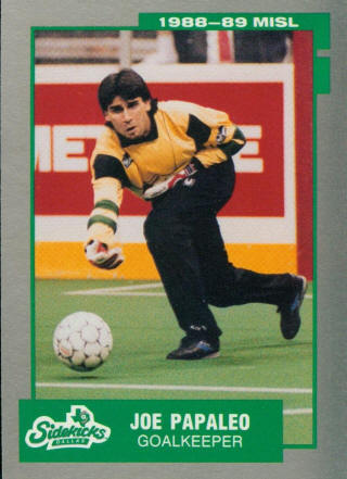 Sidekicks 87-88 Goalie Joe Papaleo