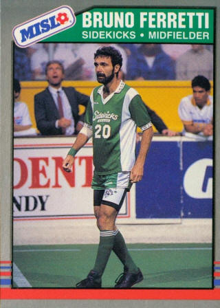 Sidekicks 88-89 Home Bruno Ferretti, Sockers