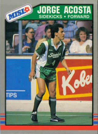 Sidekicks 88-89 Home Jorge Acosta