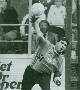 Sidekicks 91-92 Goalie Joe Papaleo