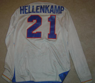 Stars 83-84 Road Jersey Hellencamp Back
