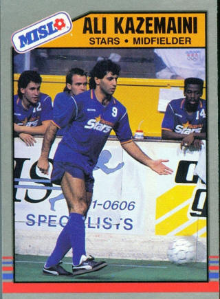 Stars 88-89 Home Ali Kazemaini