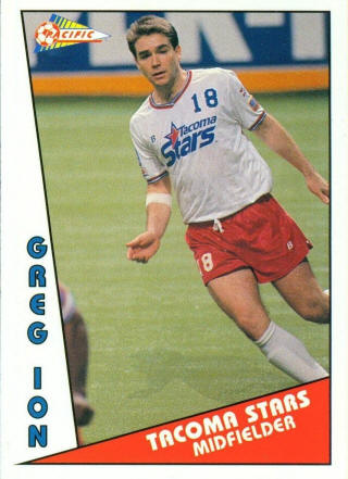 Stars 90-91 Road Greg Ion