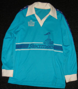Steamers 80-81 Home Jersey Jeff Sendobry