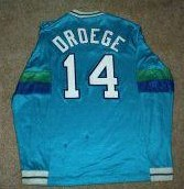 Steamers 83-85 Home Jersey Don Droege Back