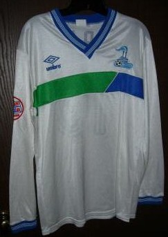 Steamers 87-88 Road Jersey Charlie Falzon