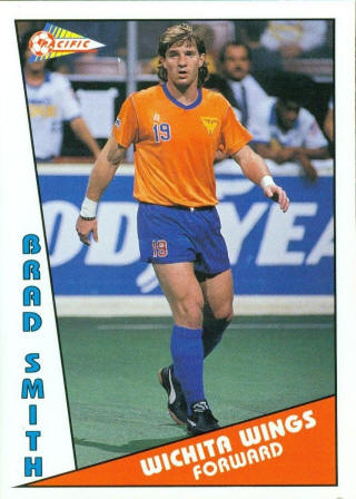 Wings 90-91 Home Brad Smith