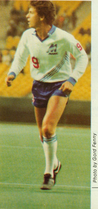 NASL Soccer Montreal Manic 81 Home Andrew Parkinson