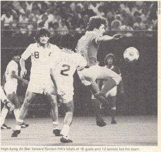 New York Cosmos Montreal Manic 1981 Gordon Hill