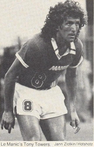 NASL Soccer Montreal Manic 81-82 Road Tony Towers