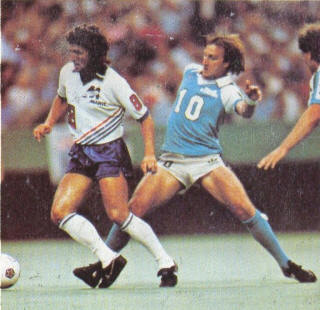 NASL Soccer Montreal Manic 82 Home Tony Towers