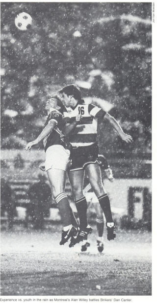 NASL Soccer Montreal Manic 82 Road Alan Willey