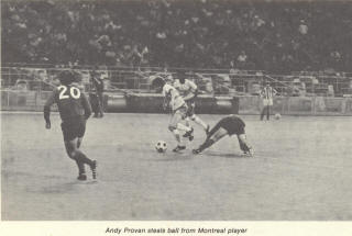 NASL Soccer Montreal Olympique 73 Road Back Ian Tyer