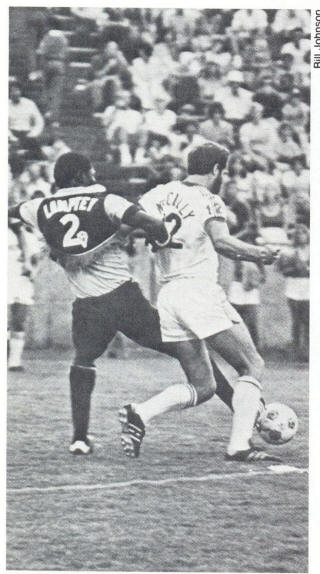 NASL Soccer Memphis Rogues 78 Home Back Henry McCully