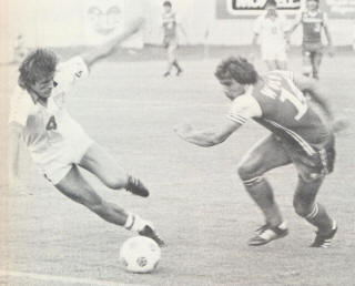 NASL Soccer Memphis Rogues 80 Home Mike Stankovic
