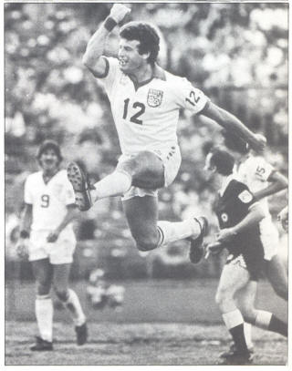 NASL Soccer Memphis Rogues 80 Home Paul Child