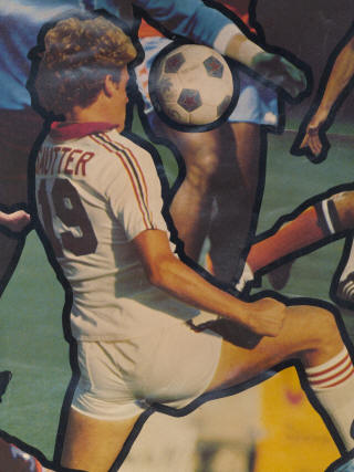 NASL Soccer Tulsa Roughnecks 78 Home Adidas Back Billy Sautter