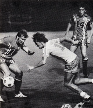 NASL Soccer Tulsa Roughnecks 78 Road Don O'Riordan, Brian Smith
