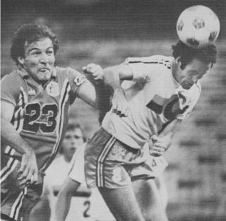 Tulsa Roughnecks 1978 Road Vukan Perovic, Surf, 6-13-1978