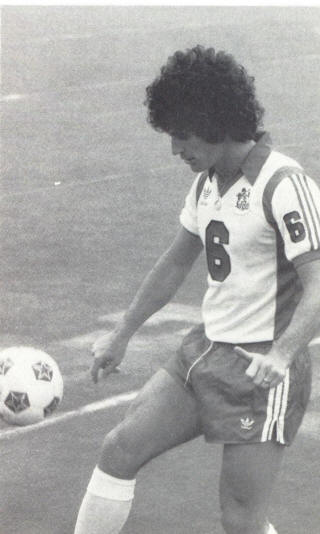 NASL Soccer Tulsa Roughnecks 80 Home Clive Griffiths