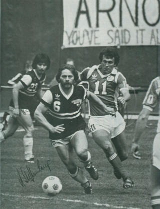 Tulsa Roughnecks at Chicago Sting Chris McGrath, Arno Steffenhagen