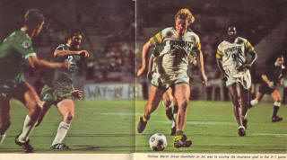 NASL Soccer Tampa Bay Rowdies 76 Home Rodney Marsh, Clyde Best