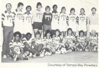 NASL Soccer Tampa Bay Rowdies 76 Home Team