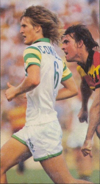 NASL Soccer Tampa Bay Rowdies 77 Home Back Mike Connell Strikers