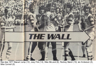 Rowdies 77 Home Copyright Wall