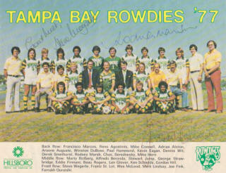 NASL Soccer Tampa Bay Rowdies 77 Home Team