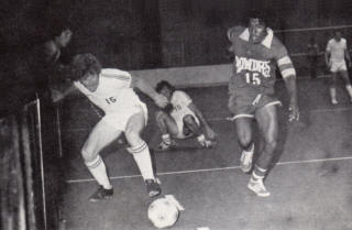 NASL Soccer Tampa Bay Rowdies 77 Road Indoor Mark Lindsay, Strikers.jpg