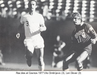 NASL Soccer Tampa Bay Rowdies 77 Road Len Glover Copyright