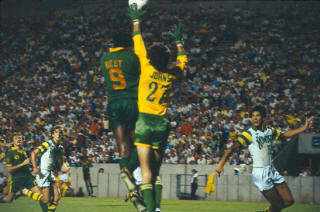 NASL Soccer Portland Timbers at Rowdies 78 Goalie Back Nicky Johns Clyde Best