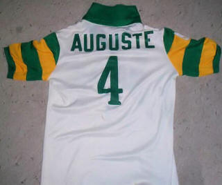 Rowdies 78 Home Jersey Arsene Auguste Back
