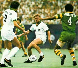 NASL Soccer Tampa Bay Rowdies 78 Road Back Arsene Auguste