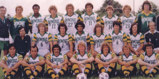 Tampa Bay Rowdies 1979 Home Team