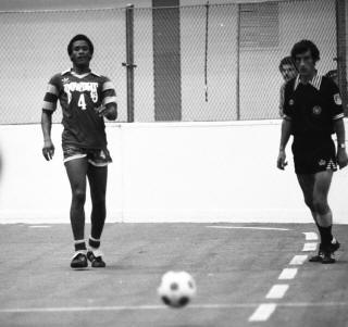 Rowdies 79-80 Indoor Road Arsene Auguste, Ref, Strikers