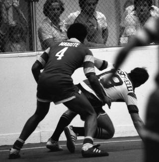 Rowdies 79-80 Indoor Road Back Arsene Auguste, Strikers 80-01-12 (3)