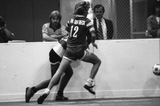 Rowdies 79-80 Indoor Road Back Perry Van Der Beck, Strikers (38)