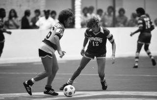 Rowdies 79-80 Indoor Road Perry Van Der Beck, Strikers