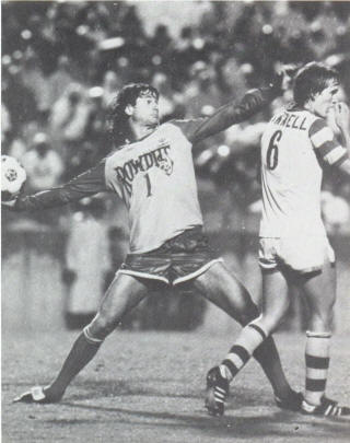 NASL Soccer Tampa Bay Rowdies 80- Home Back Mike Connell (2)