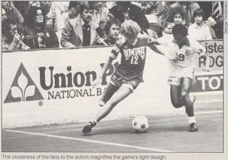 NASL Soccer Tampa Bay Rowdies 80-81 Indoor Road Perry Van Der Beck